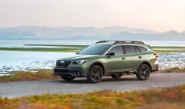 Subaru представили новое поколение Outback на Нью-Йоркском автосалоне